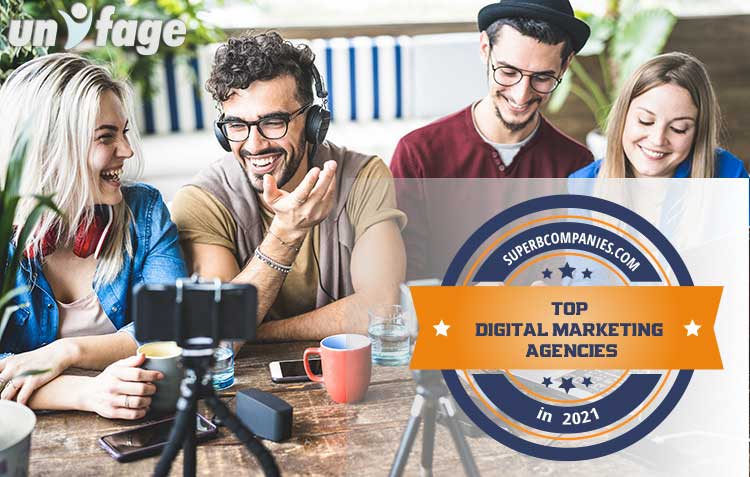 Unifage among Top Digital Marketing Agencies in 2021
